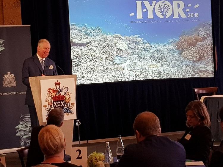 Prince Charles coral reef IYOR