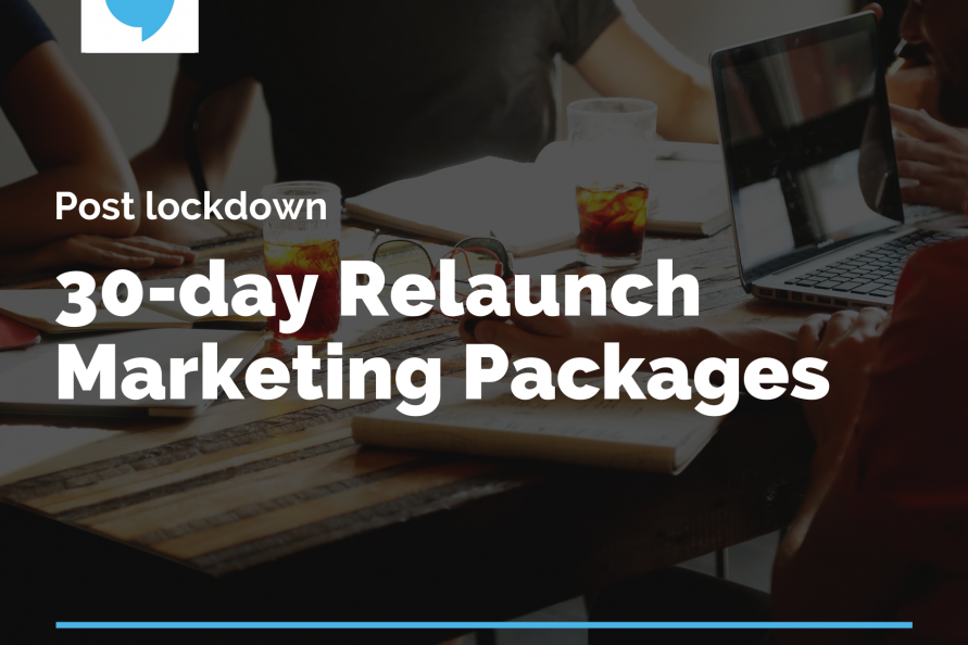 post lockdown 30 day relaunch marketing package