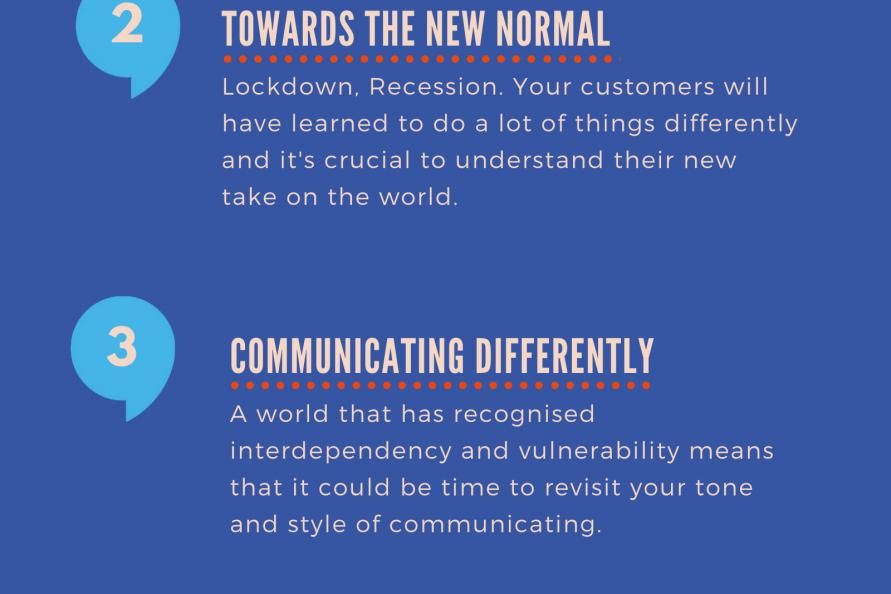 Preparing to communicate to an unlocked world