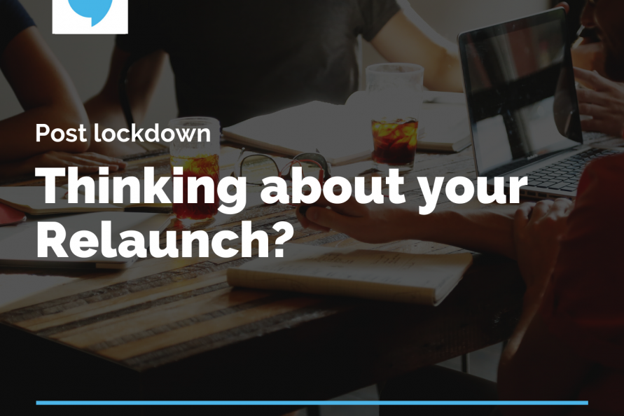 post lockdown thinking about your relaunch